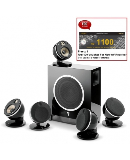 Focal Pack Dome 5.1Ch Satellite Speaker Package