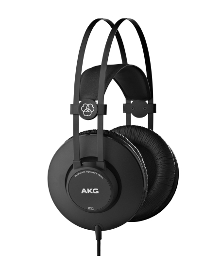 AKG K52 Black Closed-Back Headphones