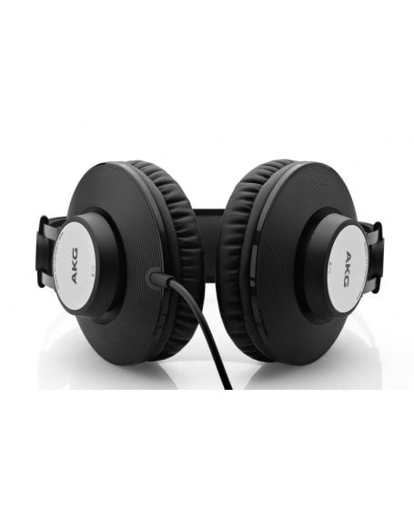 AKG K72 Black Closed-Back Studio Headphones