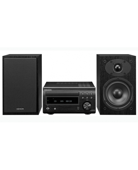 Denon D-M41 HiFi System with CD, Bluetooth FM