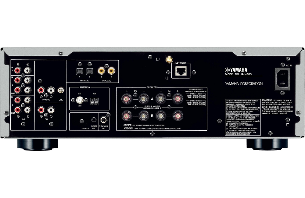 yamaha r n803 stereo network receiver. Black Bedroom Furniture Sets. Home Design Ideas