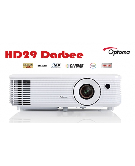 Optoma HD29 Darbee DLP Full HD 3D Projector