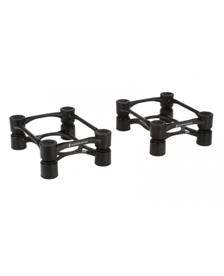 IsoAcoustics Aperta200 Sculpted Aluminum Acoustic Isolation Stands (Pair)