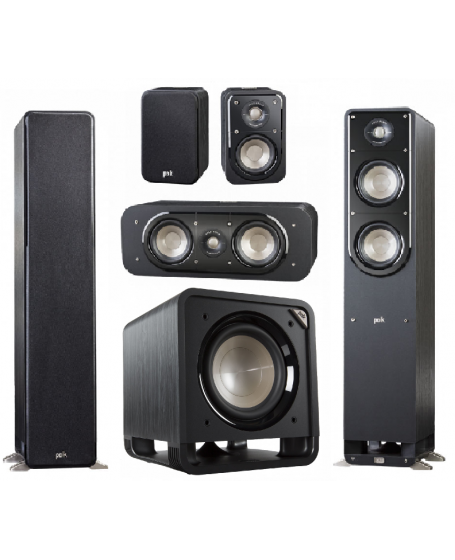 Polk Audio S50 Signature 5.1 Speaker Package