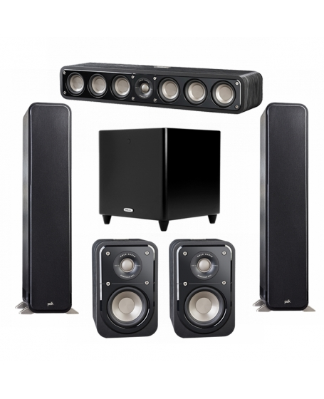 Polk Audio S55 Signature 5.1 Home Theater System