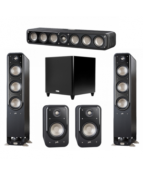 Polk Audio S60 Signature 5.1 Speaker Package