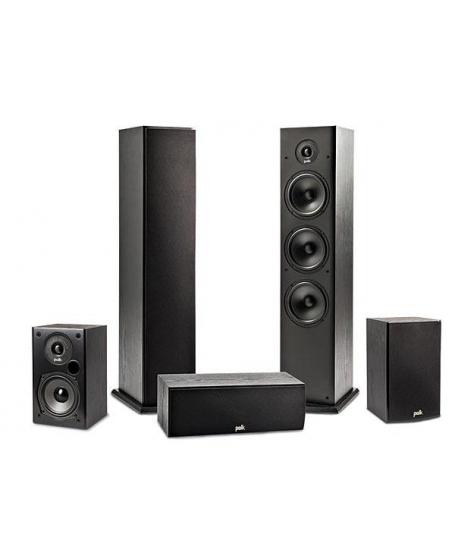 Polk Audio T50 5.0 Speaker Package