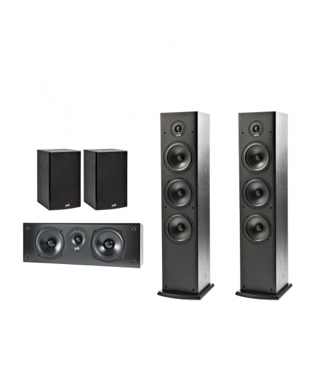 Polk Audio T50 5.0 Home Theater System