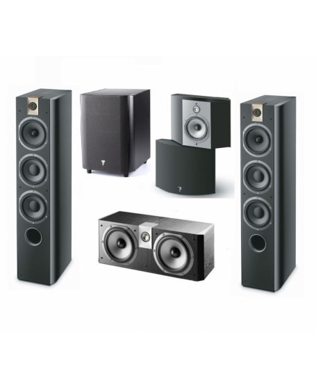 Focal Chorus 5.1 HomeTheater System Made In France