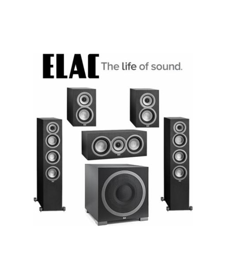 ELAC Uni-Fi UF5 Slim 5.1 Home Theater System