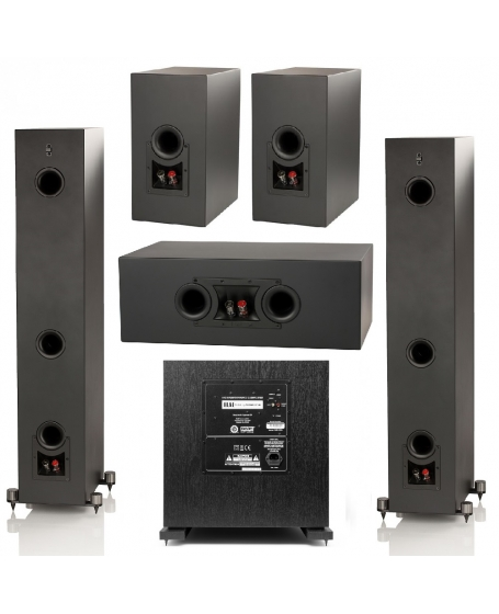 ELAC Uni-Fi UF5 Slim 5.1 Speaker Package