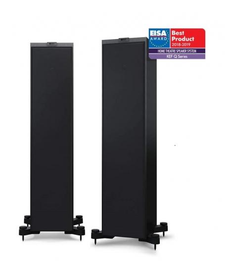 KEF Q750 Floorstanding Speaker With Grille