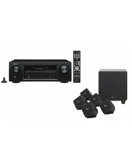 Denon X540BT 5.1Ch Satellite Home Theater System