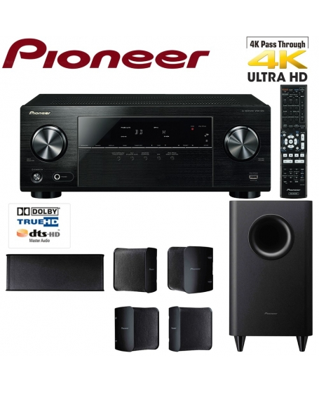 Pioneer HTP-074 5.1 Channel Home Theatre System
