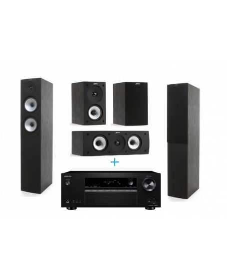 Onkyo & Jamo 5Ch Home Theatre Package