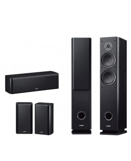Yamaha ns 51 home theatre 5pc speaker package for Yamaha ns 50 speaker pack