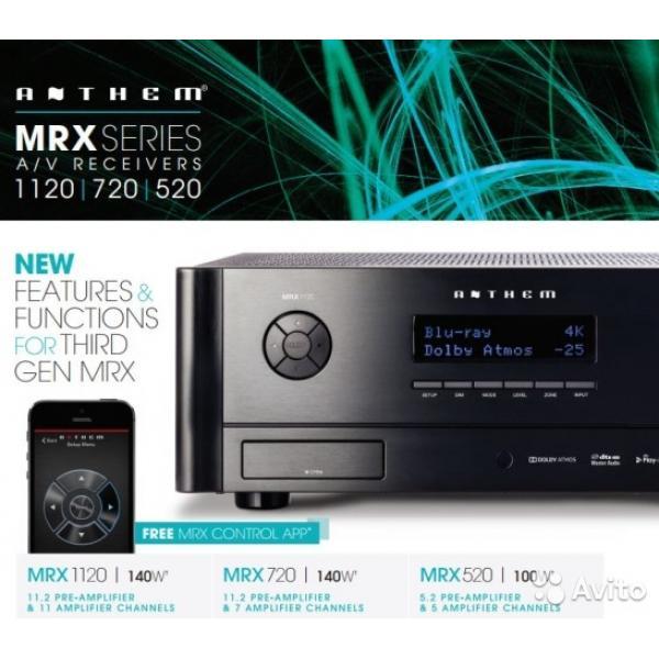 Anthem MRX-720 11 2ch High End AV Receiver