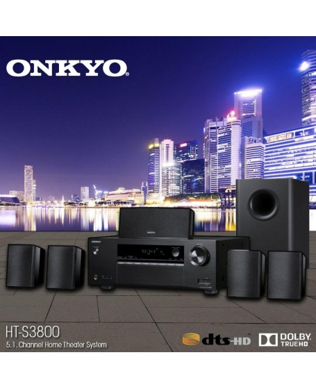 Onkyo HT-S3800 5.1Ch Home Cinema Speaker Package