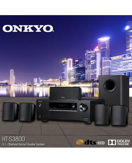 Onkyo HT-S3800 5.1Ch Home Cinema Speaker Package