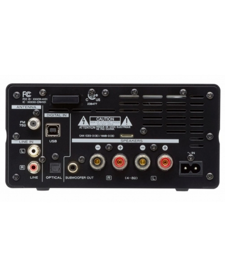 TEAC CR-H101 CD Receiver/USB/Bluetooth