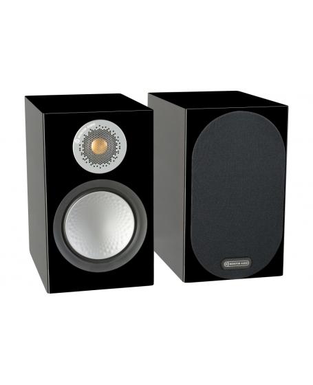 Monitor Audio Silver 50 Bookshelf Speaker.