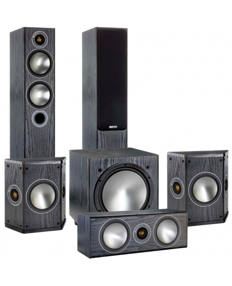 Monitor Audio Bronze 5 5.1 Speaker Package