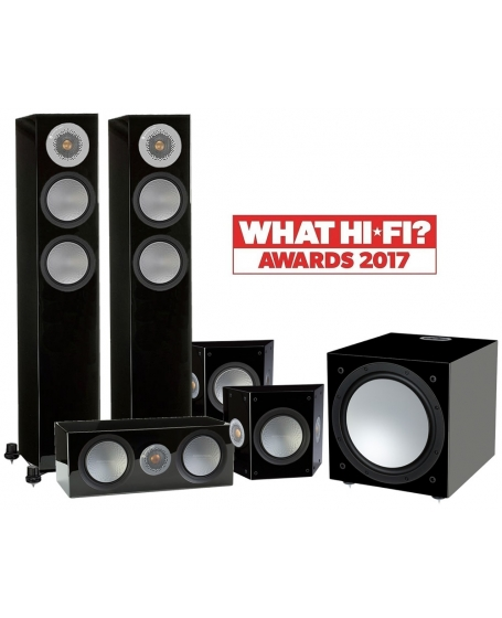 Monitor Audio Silver 200 5.1 Home Theater Package