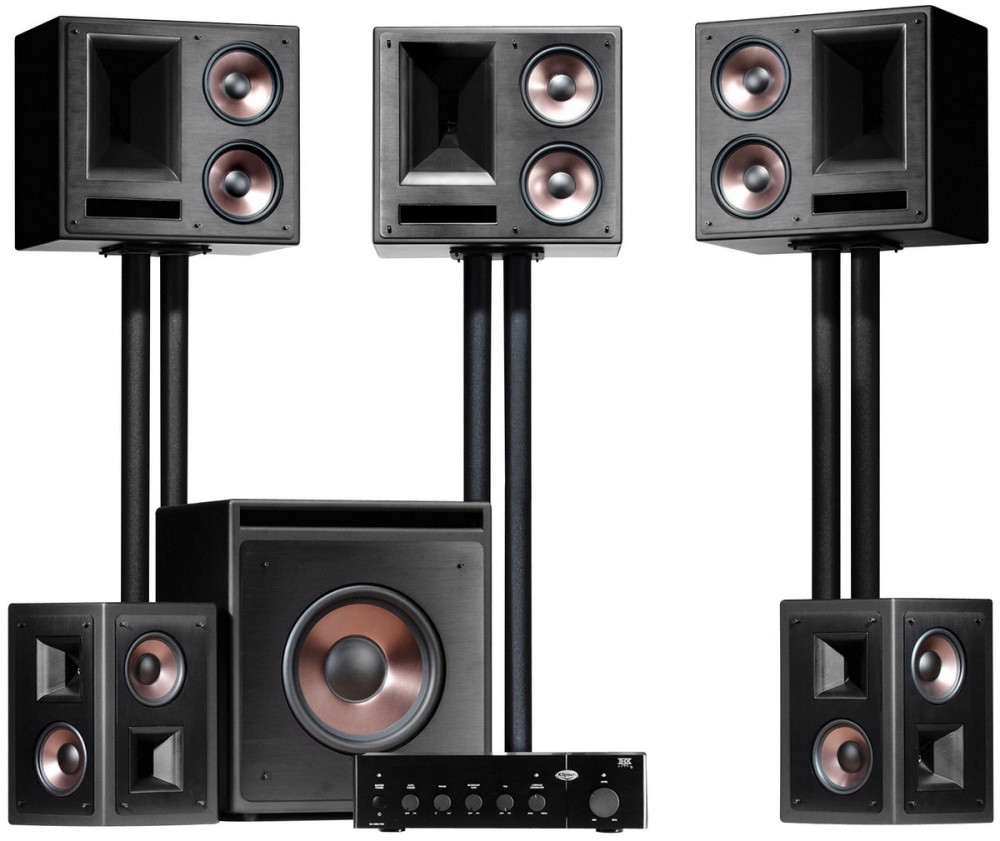 Klipsch thx ultra2 home theatre speaker system - Thx home cinema ...