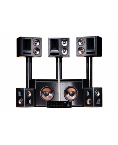 klipsch thx ultra2 home theatre speaker system. Black Bedroom Furniture Sets. Home Design Ideas