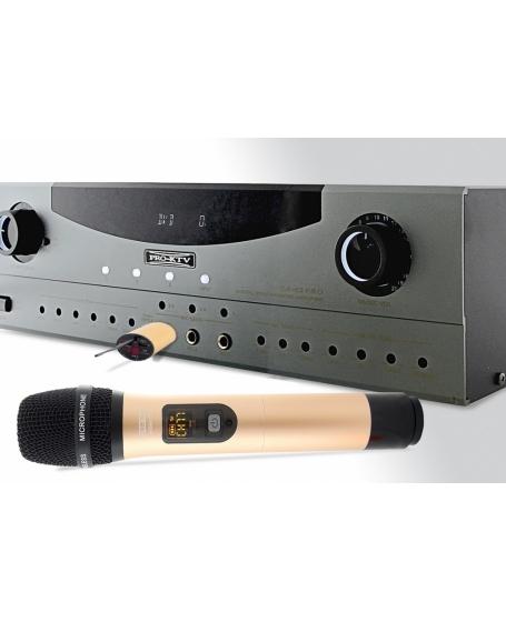 Pro Ktv WSM-55 Portable Wireless Microphone