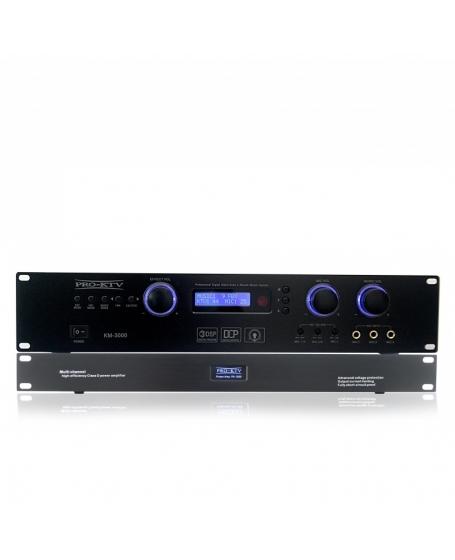 Pro Ktv PP-3000 Pre & Power Amplifier