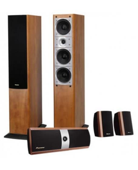 Pioneer SV510 Home Theater 5pcs Speaker Package
