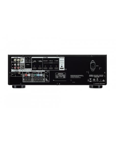 Denon AVR-X250BT 5.1Ch 4K Bluetooth AV Receiver