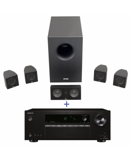 Onkyo TX-SR252 5.1Ch Home Theatre System