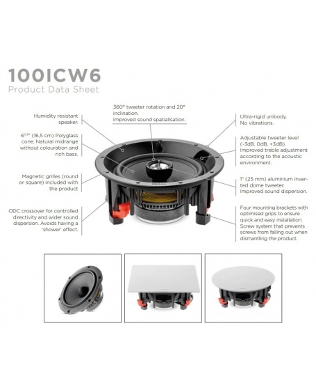 FOCAL 100 ICW6 6.5