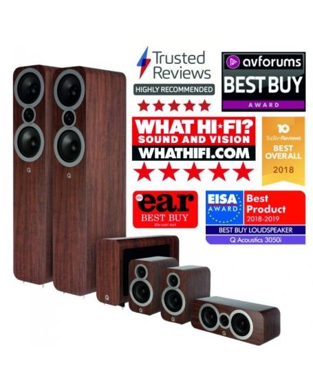 Q Acoustics 3050i 5.1 Speaker Package