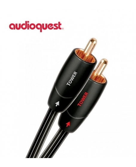 Audioquest Tower RCA to RCA Interconnect 1.5Meter