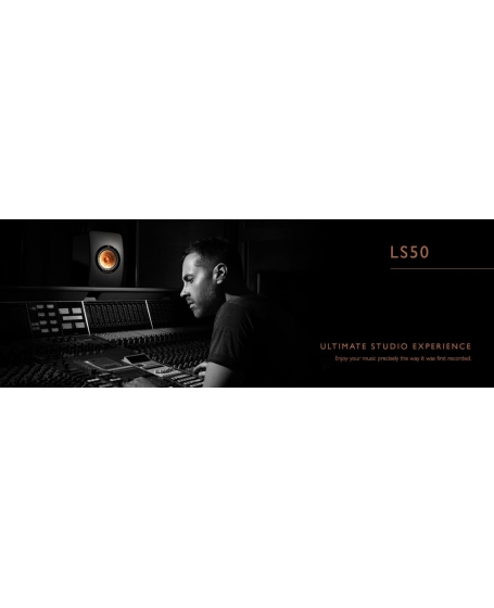 KEF LS50 Flagship Hi-Fi Speakers