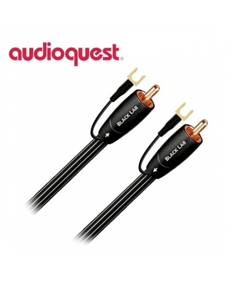 Audioquest Black Lab 3M Subwoofer Cables