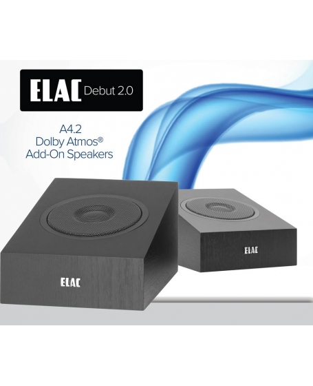 ELAC Debut 2.0 A4.2 Atmos Enabled Elevation Speaker