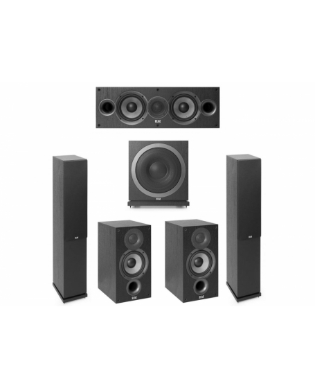ELAC F5.2 5.1 Home Theater Package