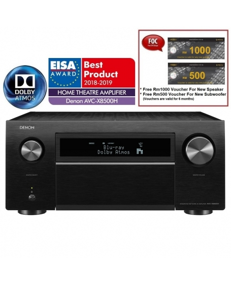 Denon AVC-X8500H 13.2 Channel AV Receiver Made In Japan