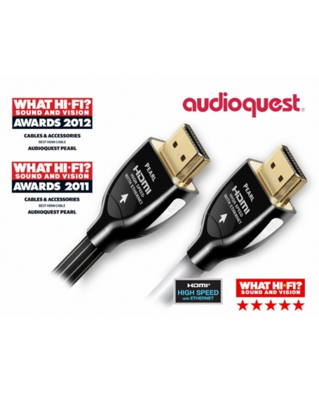 Audioquest 12M Pearl HDMI Cable ( DU )