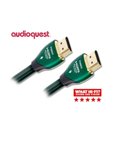 Audioquest Forest 4K HDMI Cable 12.5 Meter