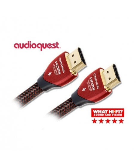 Audioquest Cinnamon 2M 4K HDMI Cable