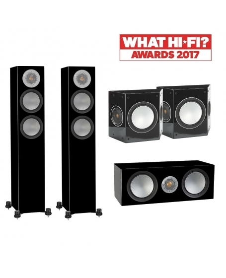 Monitor Audio Silver 200 5.0 Speaker Package