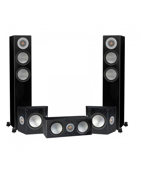 Monitor Audio Silver 200 5.0 Speaker Package.