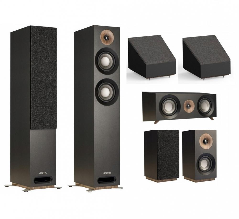 Jamo S 807 HCS 5 0 2 Atmos Speaker Package