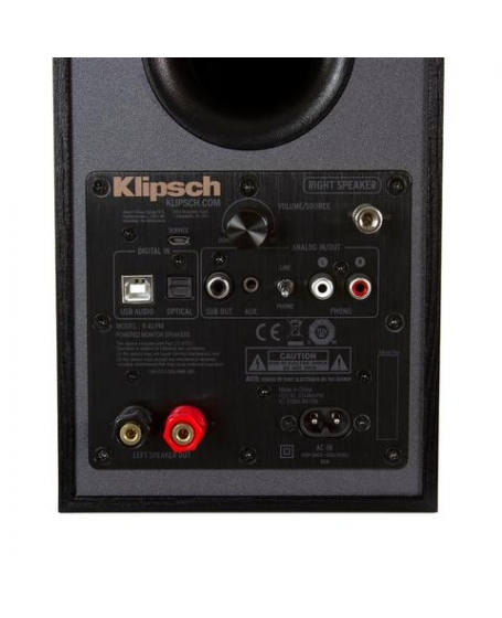 Klipsch R-41PM Power Monitor Speaker With Bluetooth and Phono Input
