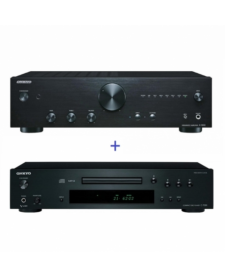 Onkyo A-9010 Integrated Amplifier + Onkyo C-7030 CD Player